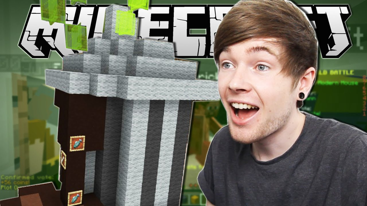 Minecraft Epic Trash Can Build Battle Minigame