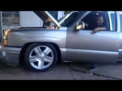 Chevy Texas Edition >> Cam out Silverado dropped on stock 20s Chevy rims. - YouTube
