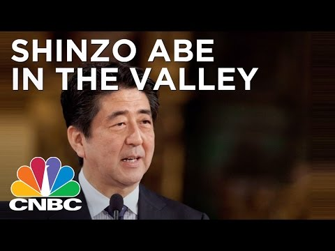 Japan's Prime Minister Shinzo Abe Visits Silicon Valley | CNBC
