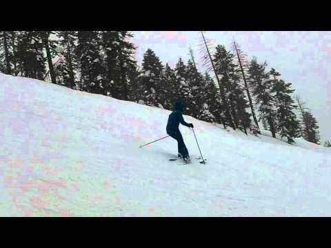 Reyerson, aka Jean Claude Killy, Shredding at NorthStar