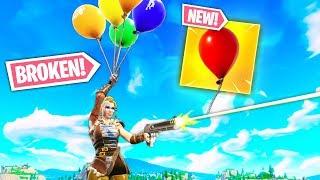 NEW *BROKEN* BALLOON TRICKS!! | Fortnite Funny and Best Moments Ep.283 (Fortnite Battle Royale)
