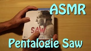 Unboxing du Pentalogie Saw [ ASMR ]