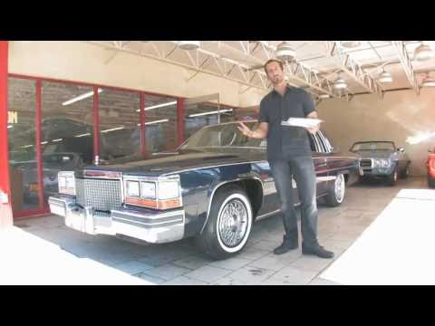 1981 Cadillac Coupe DeVille  for sale with test drive. driving sounds. and walk through video