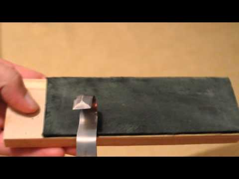 Mora 162 Curved Knife Modification and Sharpening