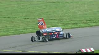 FIRST EVER BLOODHOUND SSC PUBLIC RUN! - 200+MPH - WORLDS FASTEST CAR!