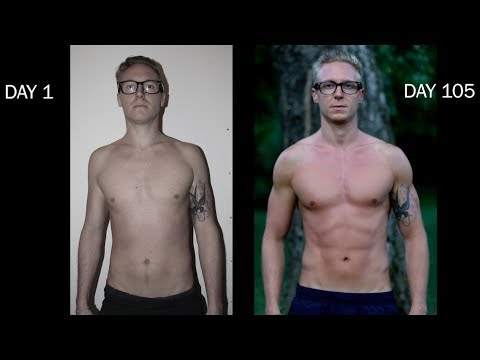 105 DAYS BODY TRANSFORMATION - How Freeletics Changed My Life