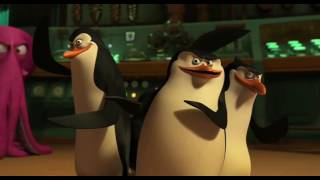 Funny scene from Movie Penguins of Madagascar