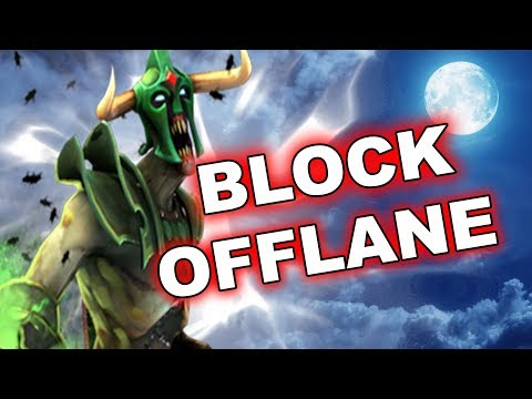 Dota Tricks: NEW Offlane creeps blocking - 7.14 !