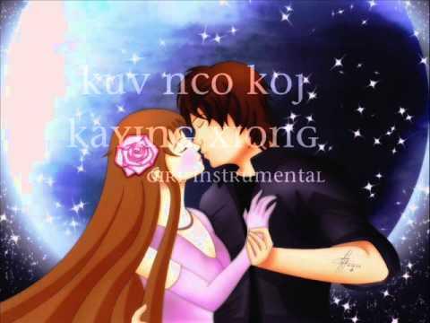 Kuv Nco Koj Girl Instrumental video