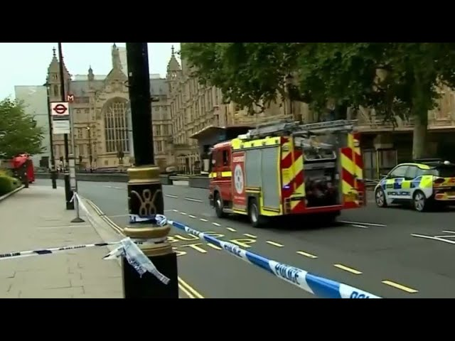 Possible terror attack outside Houses of Parliament in London