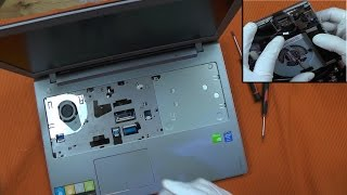 Repair Lenovo Ideapad Z510 Z500 Z50 Cleaning Fan Upgrade Ram SSD