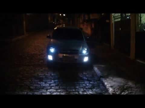 Celta 2012 LS Lâmpada Osram Night Breaker  Plus e Diamond Vision HD