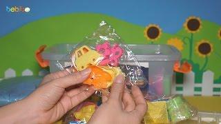 Giới thiệu đồ chơi cát động lực - Rất nhiều bộ khuôn nặn tạo hình chơi cát cho bé