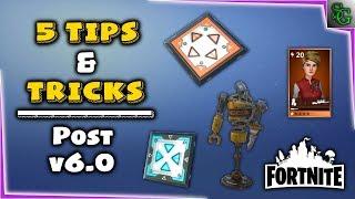 Fortnite - 5 Tips and Tricks Post v6.0 - Defenders, Decoy, Jump Pads, etc..