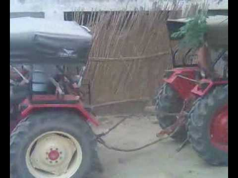 Tractor Stunt Barn video