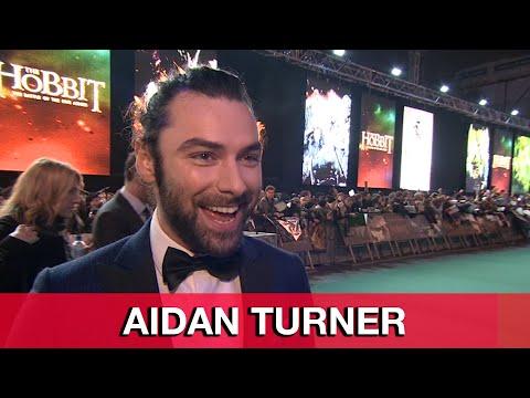 Aidan Turner Kili Interview - The Hobbit 3: The Battle of the Five Armies World Premiere