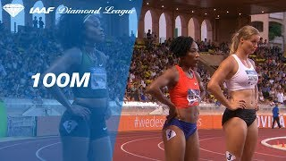 Marie-Joseé Ta Lou 10.89 Wins Women's 100m - IAAF Diamond League Monaco 2018