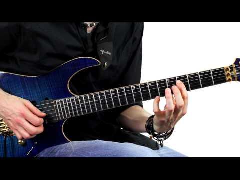 Lesson Guitar - Ascending Legato Lick