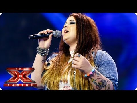 Jade Richards sings Back To Black by Amy Winehouse - Arena Auditions Week 2 -- T