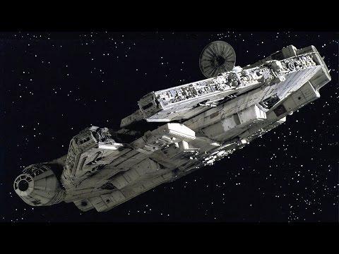 Star Wars Millennium Falcon Reveal Includes Hidden Batmobile - Rewind Theater