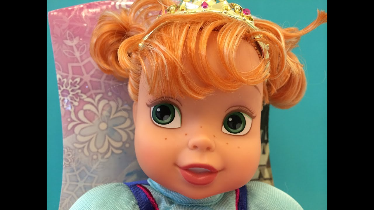 Disney Frozen Baby Anna With An Elegant Tiara Must Have