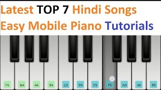 download lagu Latest Top 7 Hindi Songs Piano Tutorials - Jarzee gratis