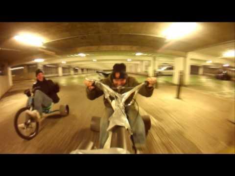 Urban Drift Trikes (Multi-Storey Car Park Drift)
