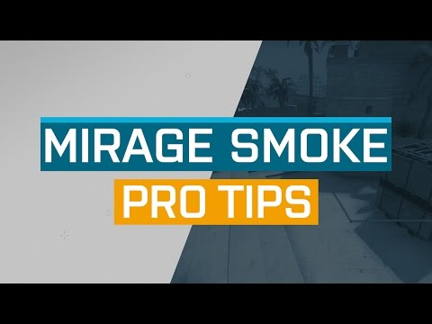CS:GO - ProTips: Mirage - CT Smoke
