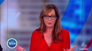 "Allison Janney Weighs In On Press Sec. Spicer, Addressing Real Life Issues On ""Mom"" 