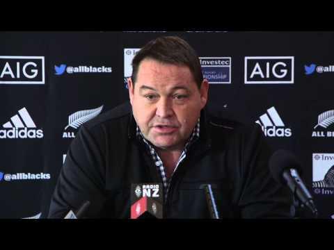 Steve Hansen announces 2014 Rugby Championship squad | Rugby Video - Steve Hansen announces 2014 Rug