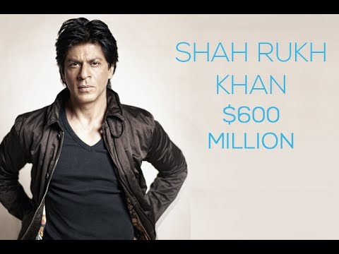 Shahrukh Khan Second Richest Actor In The World