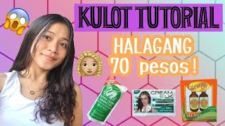 Permanent Kulot Tutorial worth 70 Pesos | Casey Kyle Guido