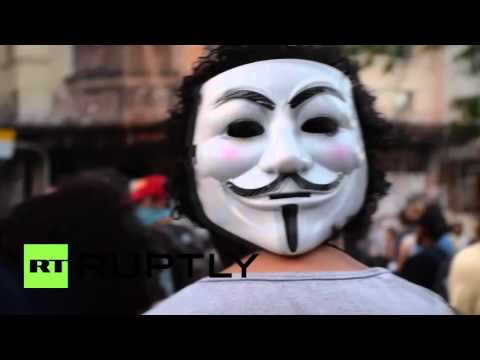Brazil: Thousands protest in Rio de Janeiro against transport fare hike