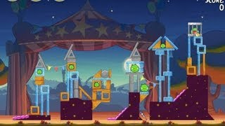 Angry Birds Seasons Abra-ca-Bacon 2-12 Walkthrough 3-Star
