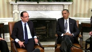 President Obama's Bilateral Meeting with President François Hollande of France 6/19/2013