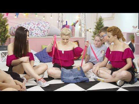 Jak Zrobić Plecak Ze Spodni Dżinsowych? ( DIY  / Odcinek 19) My3 - TV Dla Dzieci