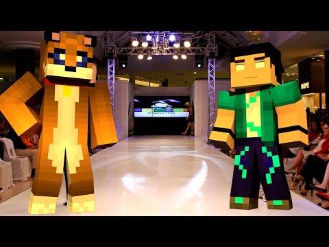 Minecraft - DESFILE DE MODA DO PUUPPYY [36] Meu Amável Mundo!