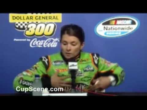 Danica Patrick Chicagoland Speedway pre-race news conference at Chicagoland Speedway part 1 Video