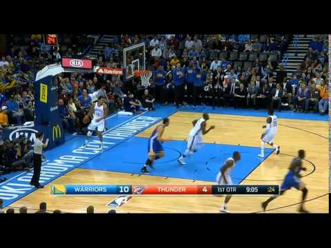 Golden State Warriors AT Oklahoma City Thunder November 23 2014