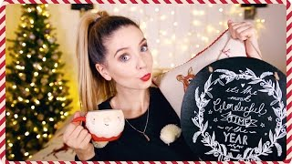 Christmas Homeware, Clothing & Accessories Haul | Zoella