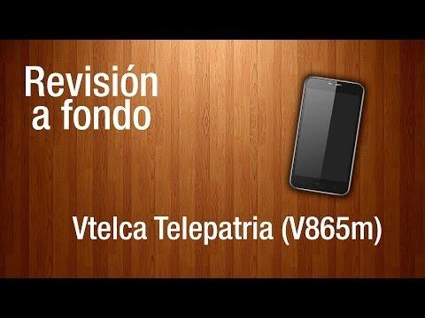 Revisión a fondo - Vtelca Telepatria V865m