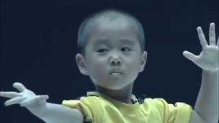 Ryusei(5year old)performed Bruce Lee