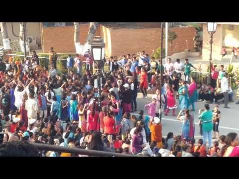 Dance performance at Wagah Border 2