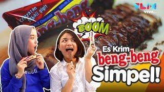 GAMPANG!! Cara Mudah Buat Es Krim Stik Beng-Beng Yang Viral