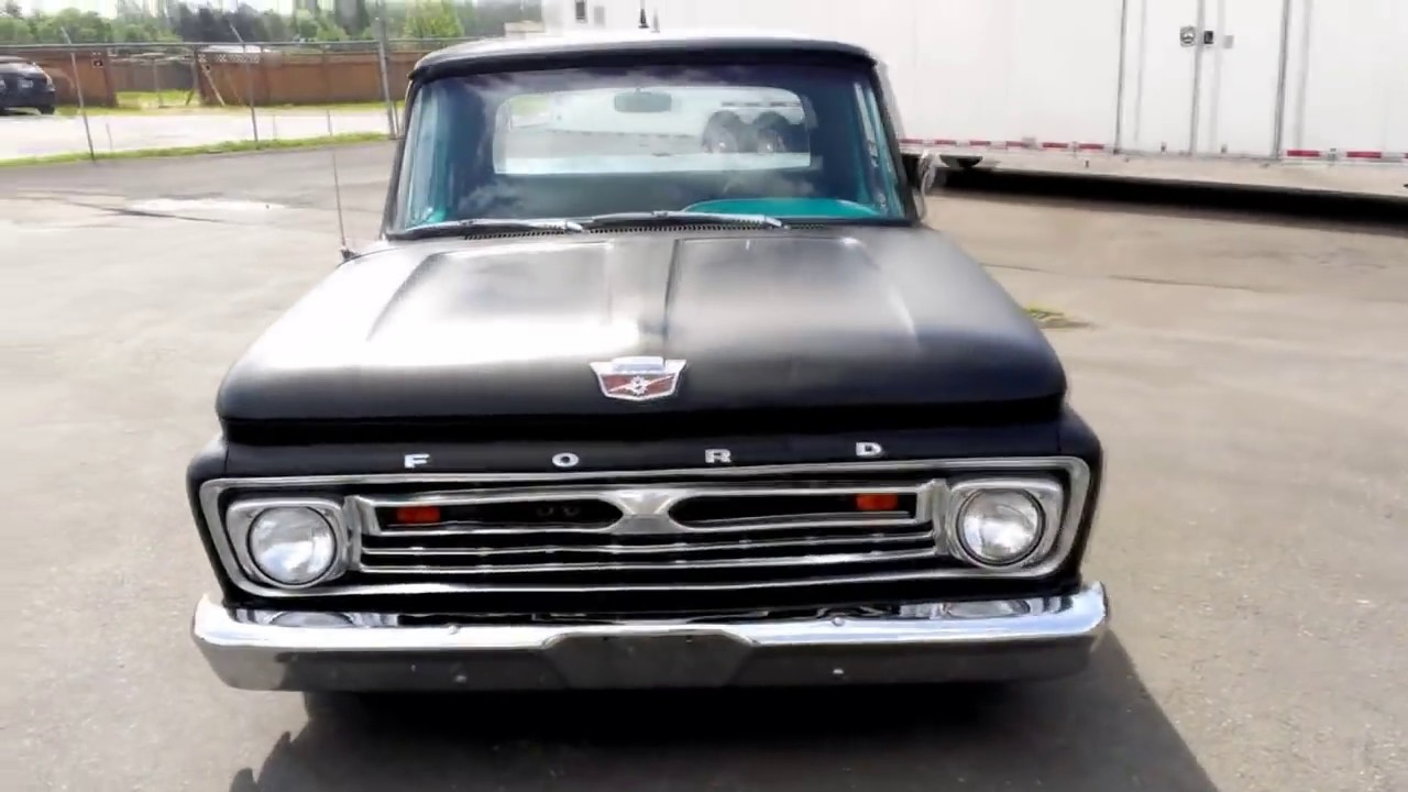 1964 Ford F100 Youtube