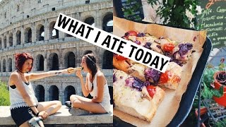 What I Ate/Did Today In Rome! Vegan Pizza & Colosseum