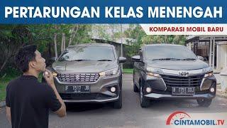 Toyota Avanza 1.5 G MT vs Suzuki Ertiga GL AT | Komparasi Low MPV | Cintamobil TV