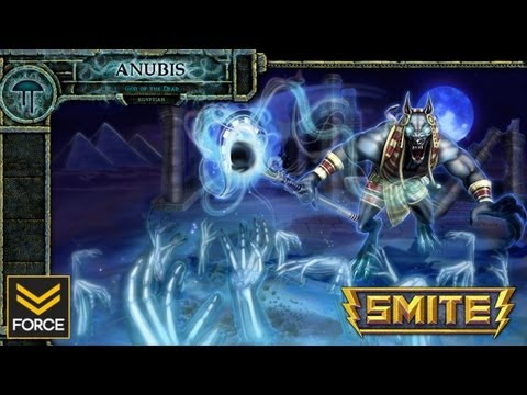 SMITE: ANUBIS (Gameplay)
