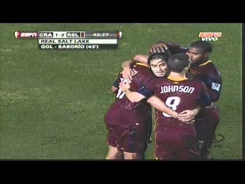 Cruz Azul vs Real Salt Lake 5-4 [25/08/10] Concacaf Liga de Campeones Video