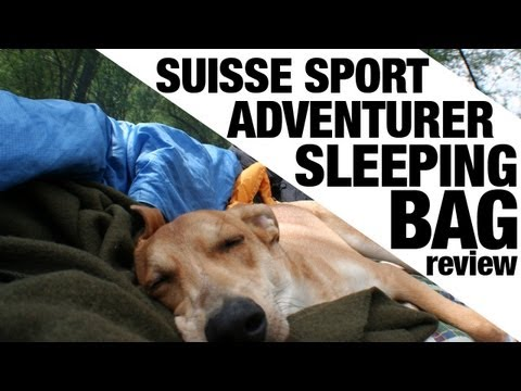 EXCLUSIVE: Suisse Sport Adventurer Mummy Ultra-Compactable Sleeping Bag REVIEW